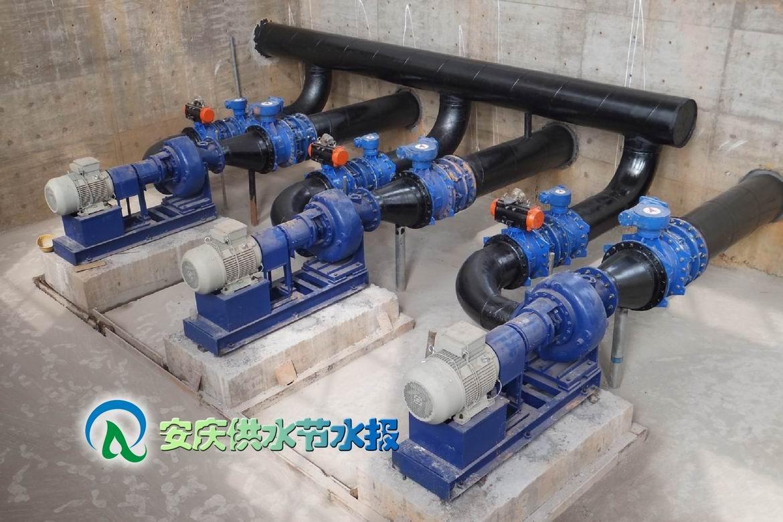 给水泵站设计_水厂二泵站该选什么水泵型号,每台水泵流量Q=875m3/h.-3台水泵已 ...