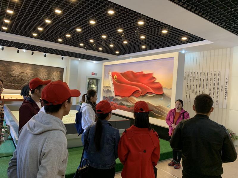 仁创聚源党支部赴红二十八军军政旧址参观学习