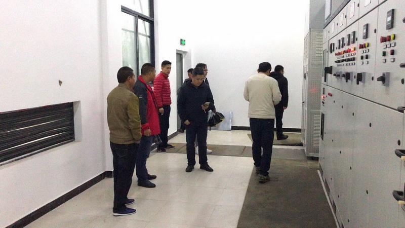 蚌埠铜陵现代产业园给水工程 竣工预验收顺利通过