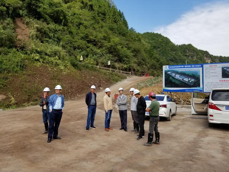集团公司游桂林总经理赴利川项目检查指导工作