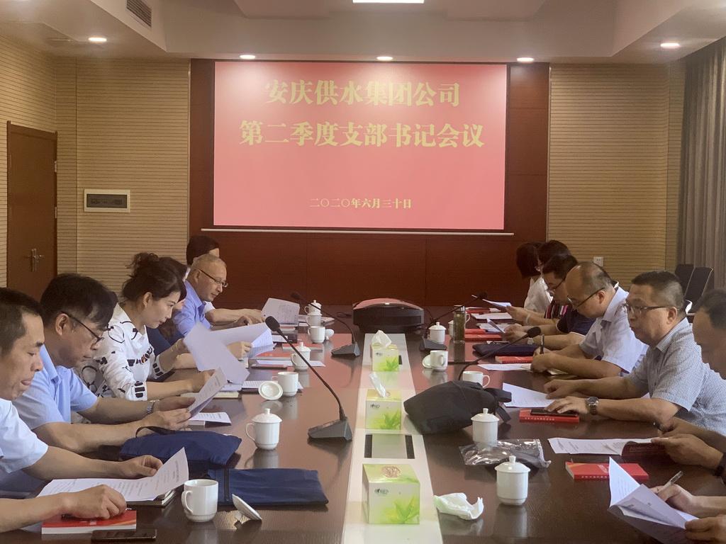 集团公司召开2020年度年中党建工作会议